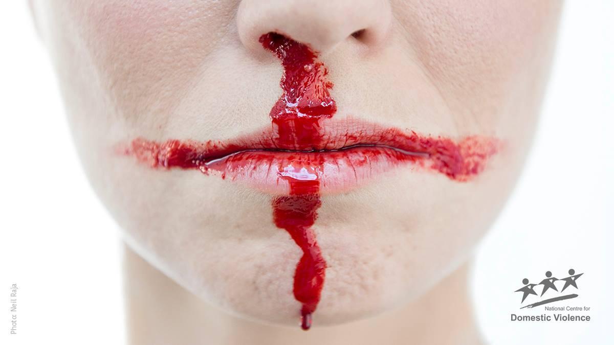 Imagen de la campaña de 2018 del National Centre for Domestic Violence