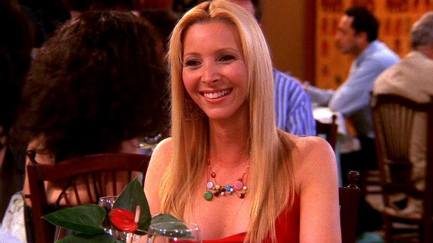 Lisa Kudrow en un capítulo de 'Friends'