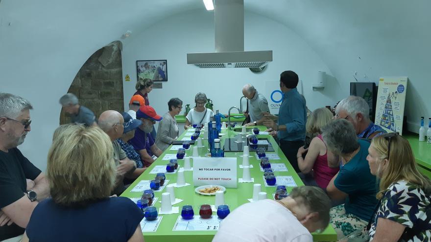 Cata en el Centro de Interpretación del Olivar en Úbeda (Jaén)