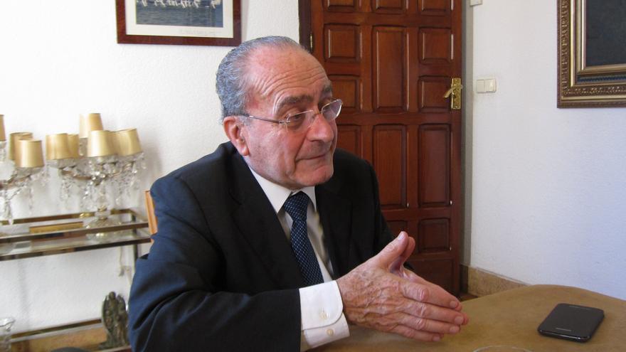 """Alcalde de Málaga reitera que """"no se tardará mucho"""" en designar al líder del PP andaluz y candidato a la Junta"""