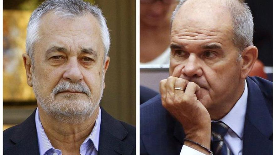 La Audiencia empezará a resolver los recursos de Chaves y Griñán en diciembre