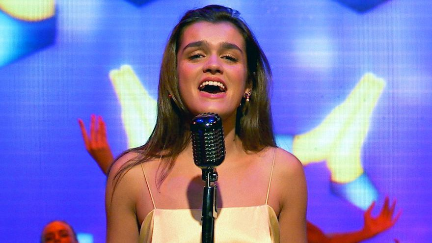 "Amaia Romero en ""La Voz de España"""