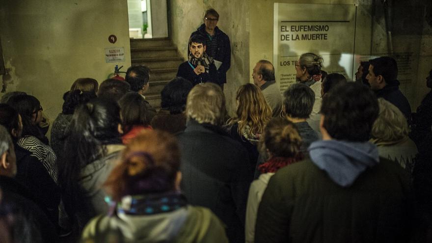 En el sótano funcionaba el 'laboratorio' y también las salas de tortura y la enfermería en la que se sedaba a las personas que luego arrojarían al mar.