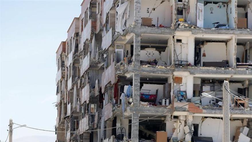 El terremoto en frontera entre Irán e Irak no afectó a militares en misión