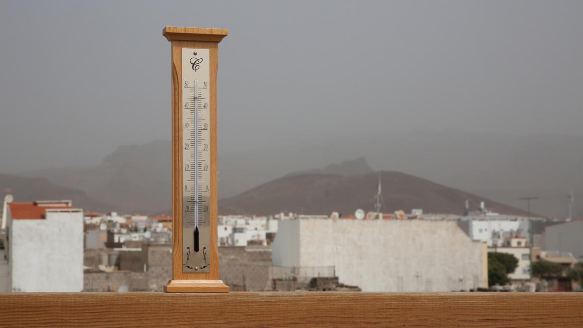 Calor y calima en el sureste de Gran Canaria, con temperaturas que ya alcanzan los 40º