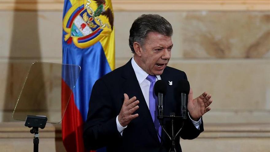 Santos: este es el primer 20 de julio que vivimos sin la sombra de la guerra
