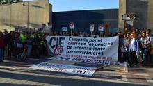 Concentración por el cierre del CIE de Zapadores (Valencia).