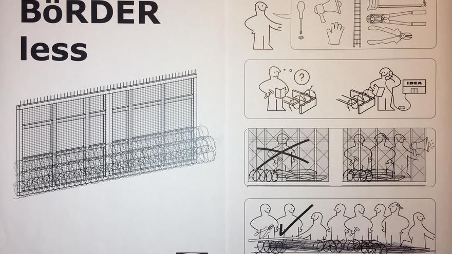 Instrucciones para desmontar una valla