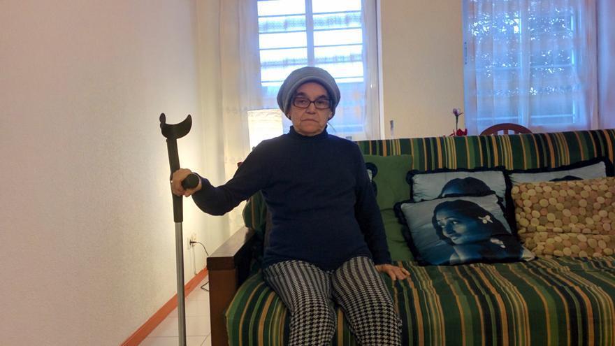 Julia Rodríguez, afectada por la venta de vivienda pública a fondos buitre