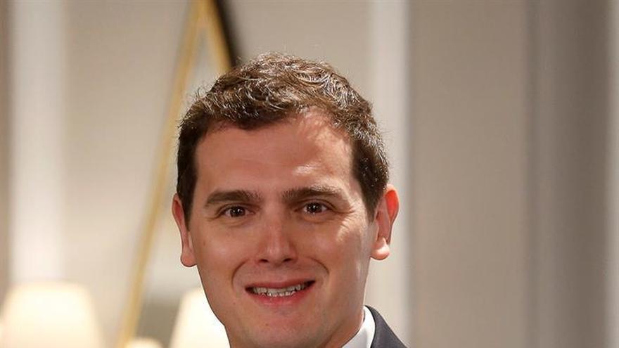 Rivera: No puede haber un Gobierno con los que quieren romper España