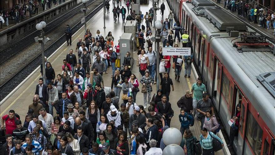 La sospecha de varias bombas interrumpe el tránsito ferroviario en Sao Paulo