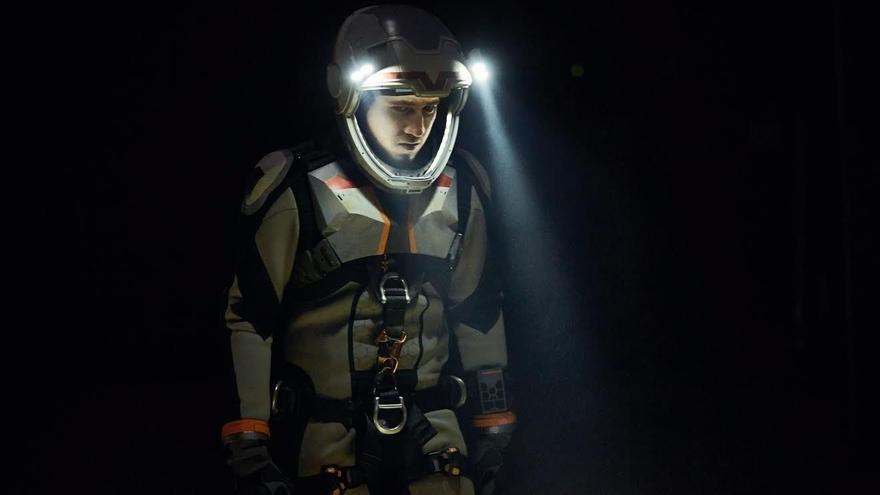 El actor Alberto Ammann, en un fotograma de la serie 'Mars'