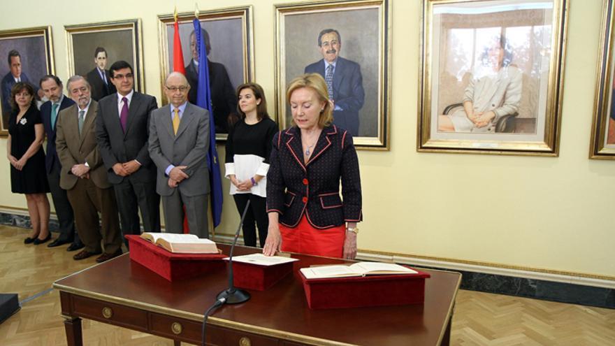 Toma de posesión de Angelina Trigo como directora de la Oficina para la Ejecución de la Reforma de las Administraciones Públicas