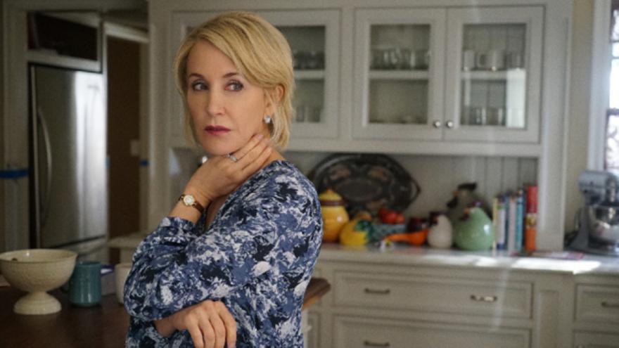 Felicity Hoffman, en la tercera temporada de 'American Crime'