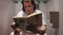 John Travolta en el papel de Vincent Vega en la película Pulp Fiction. Captura: ConsumoClaro