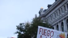 Cartel de la manifestación antirracista que tuvo lugar en Madrid el pasado 17 de noviembre.