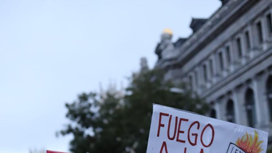 Manifestación antirracista en Madrid el pasado 17 de noviembre.