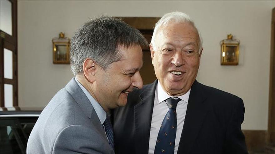 Margallo y su homólogo andorrano constatan la excelente relación bilateral