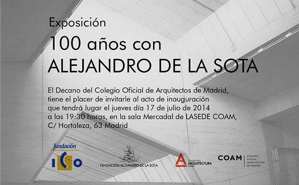 100 años con Alejandro de la Sota