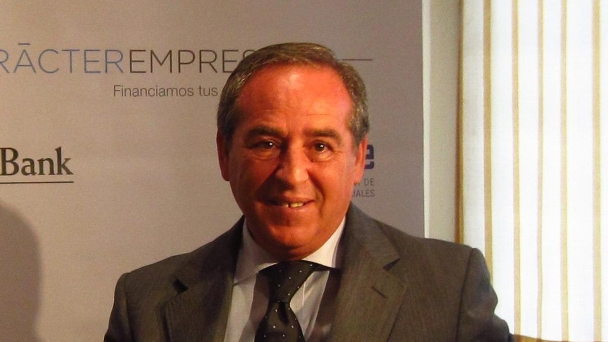 Ángel Nicolás, presidente de CECAM, en una imagen de archivo