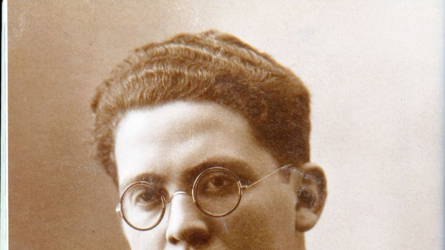 Max Aub cap al 1920 (col. Teresa Álvarez Aub)