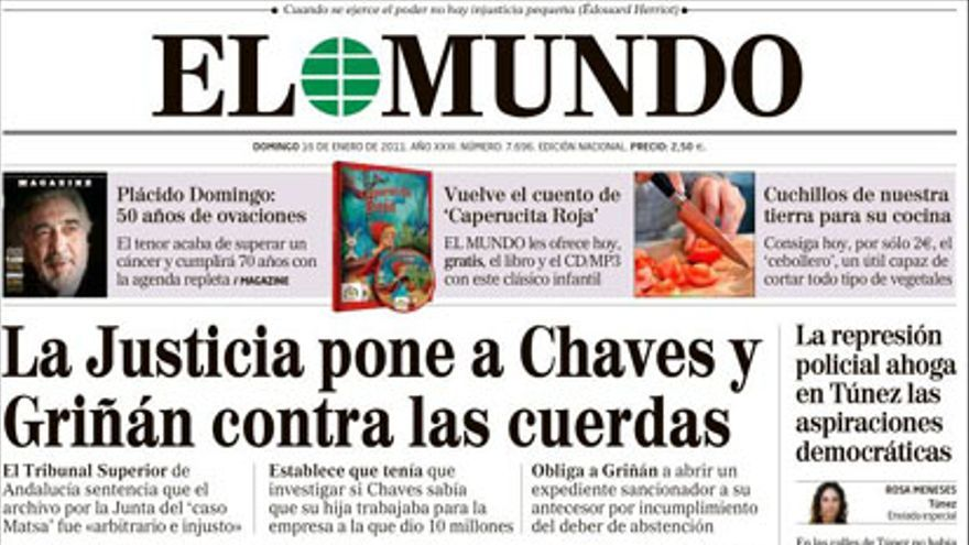 De las portadas del día (16/01/2011) #5