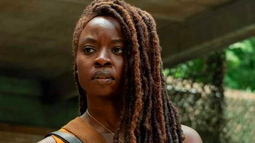 Michonne (Danai Gurira) en la décima temporada de The Walking Dead