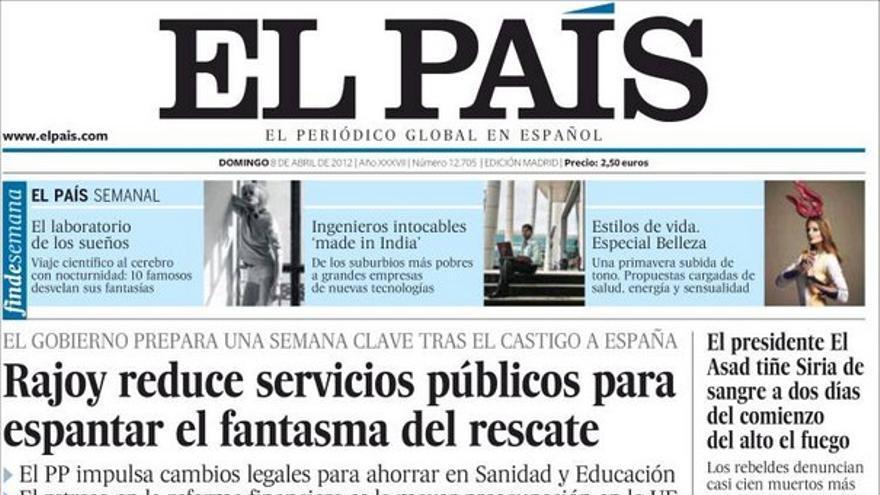 De las portadas del día (08/04/2012) #7