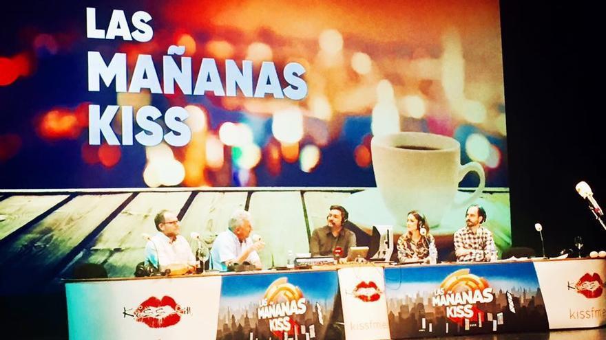 Imagen del programa de radio 'Las mañanas KISS'