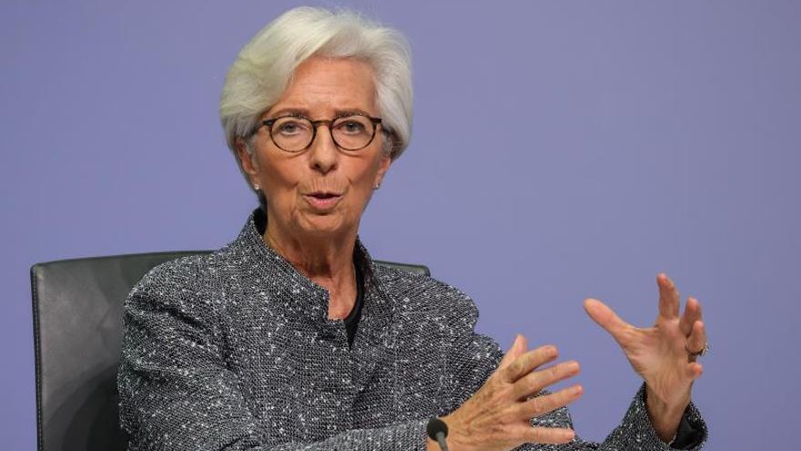 Lagarde augura una contracción en la eurozona en 2020 de entre el 5 % y el 12 por ciento