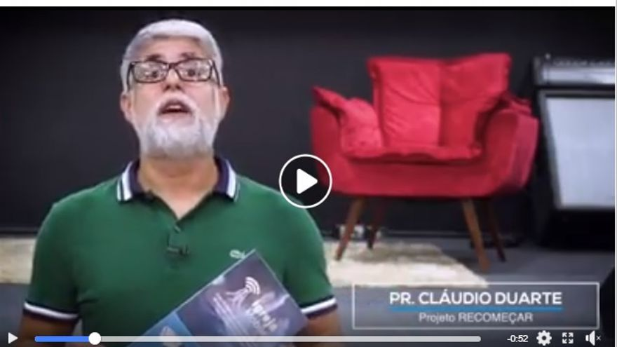 Vídeo promocional de Igreja Mobile en Facebook