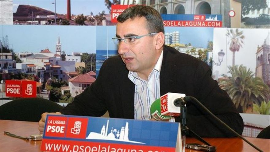 Javier Abreu, candidato del PSOE a la Alcaldía de La Laguna.
