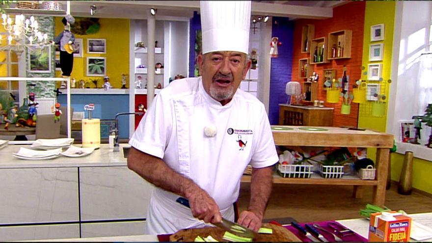 Karlos Arguiñano en 'Cocina abierta'
