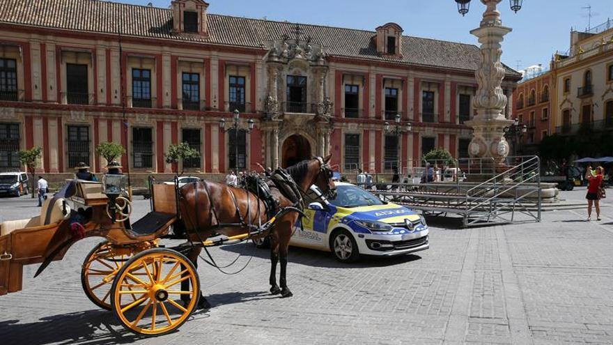 Detenido tras matar de una puñalada a un hombre en el centro de Sevilla