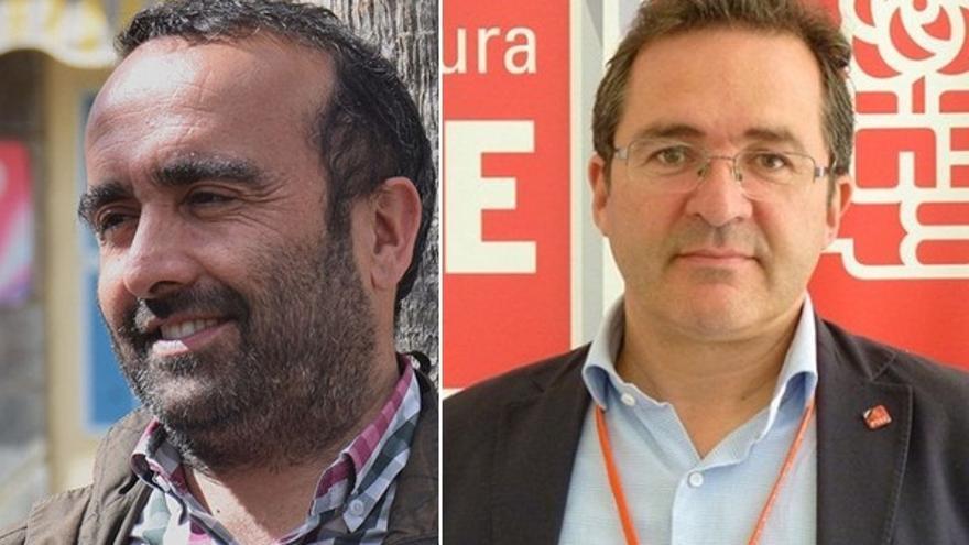 Miguel Ángel Morales y Rafael Pacheco