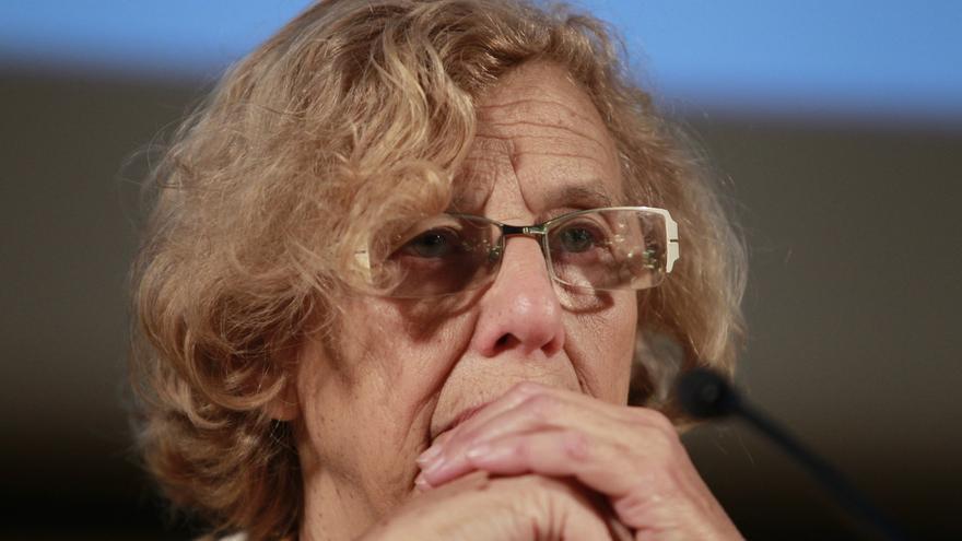 Manuela Carmena se suma al llamamiento 'No en Nuestro Nombre' contra el terrorismo