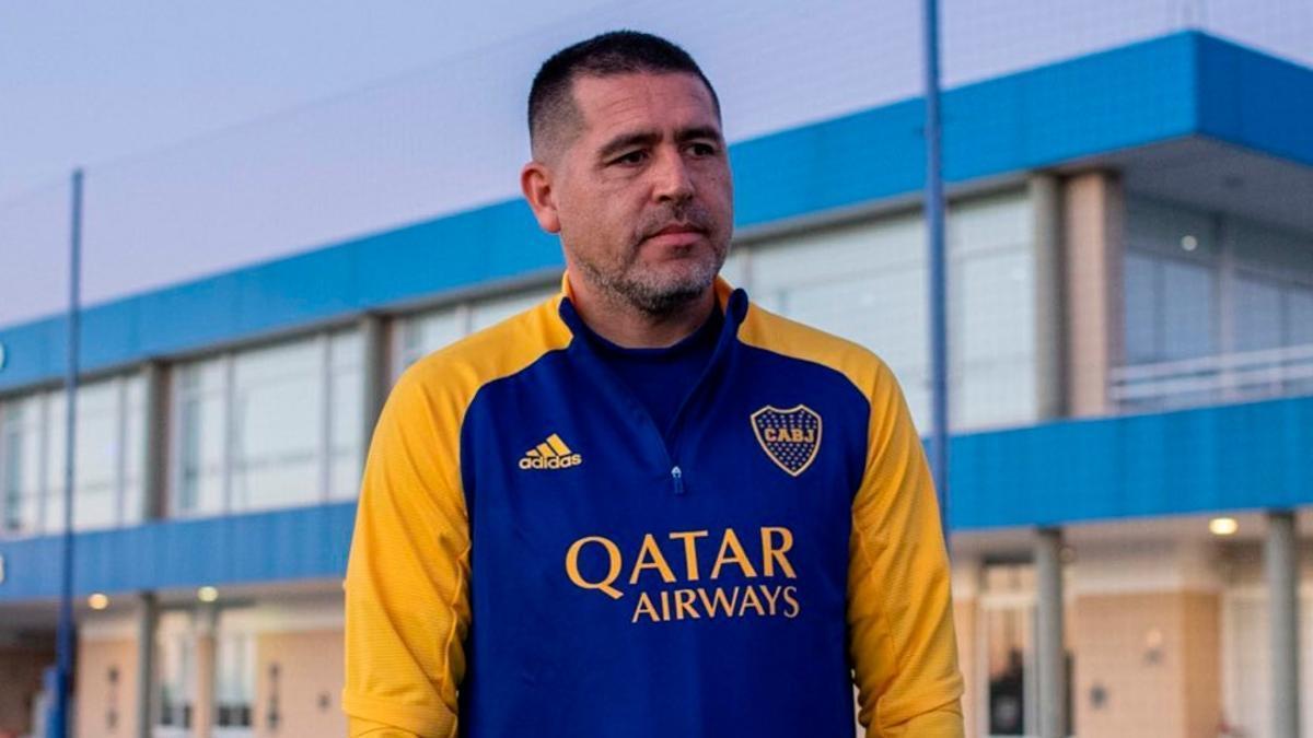 Juan Román Riquelme, vicepresidente de Boca Juniors.