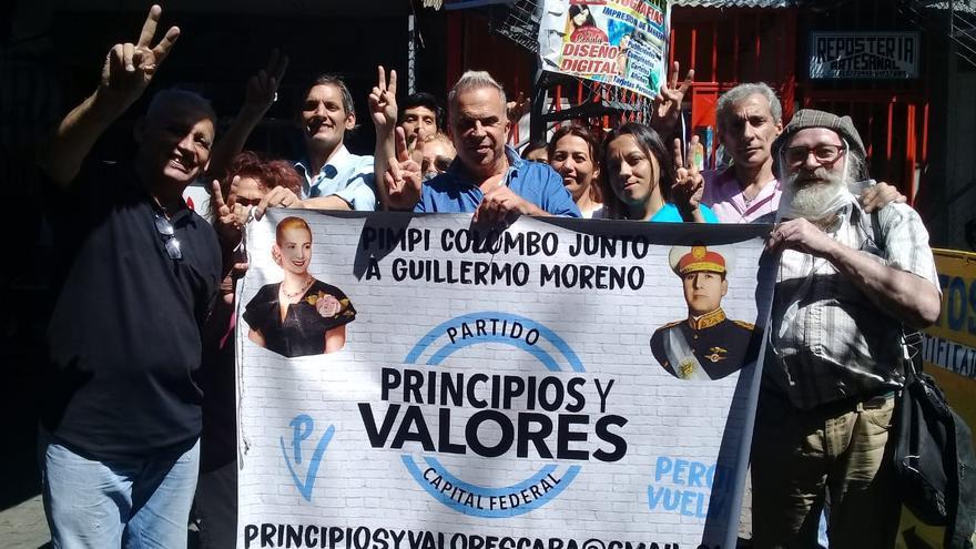 """Rubén Orlando se lanza en la Ciudad con Moreno: """"Soy peronista, voté a Macri, me arrepentí y ahora me gusta Máximo""""."""