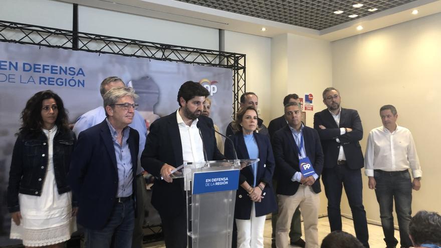 """PP se ve """"legitimado"""" para iniciar contactos en Murcia y pide respetar la opción mayoritaria de centro derecha"""