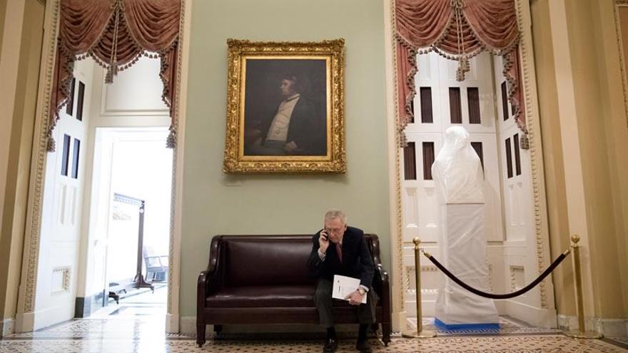 El Senado de EE.UU. prevé votar una nueva derogación de la ley de salud la semana próxima