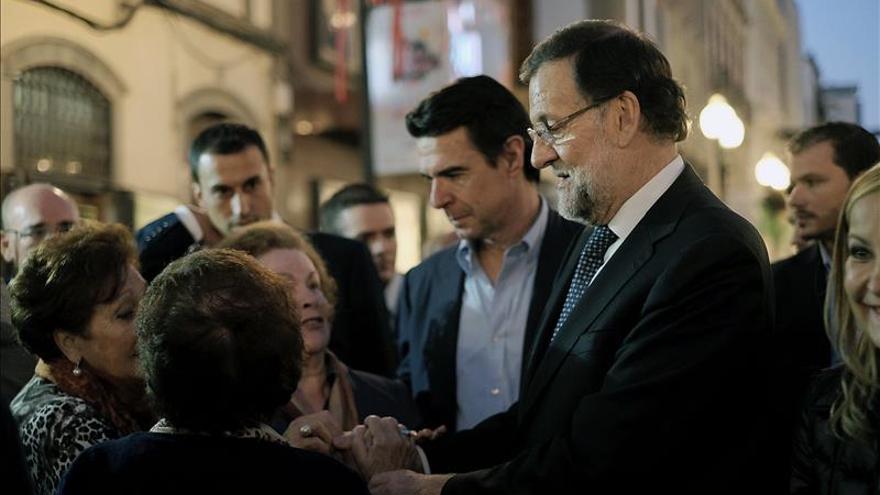 """Rajoy vuelve a atacar a C's y pide a votantes que no apuesten por """"la nada"""""""
