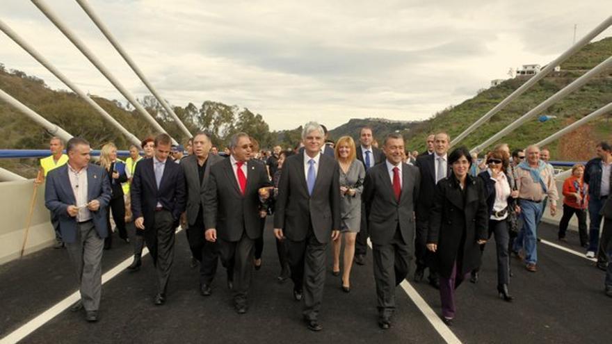 De la inauguración del viaducto #2