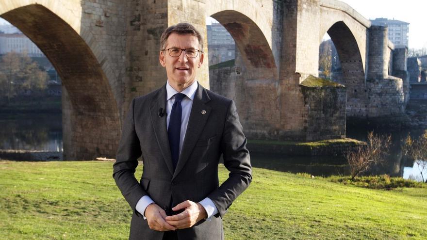 """Feijóo llama en su discurso de Fin de Año a alcanzar """"puntos de encuentro"""" para afrontar """"los retos"""" de Galicia en 2017"""