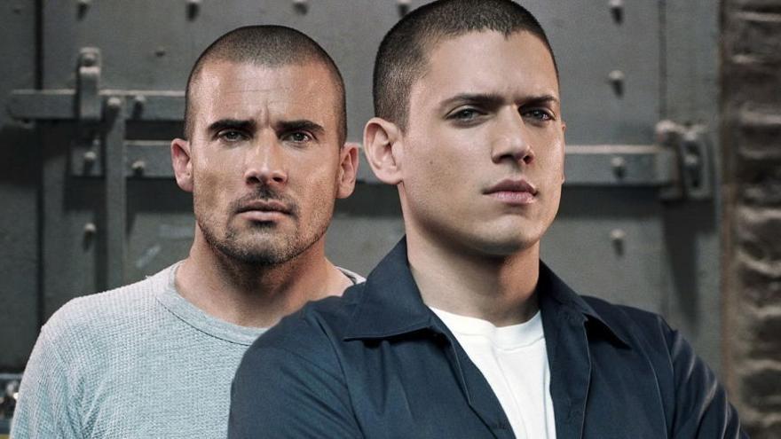 Los protagonistas de 'Prison Break'