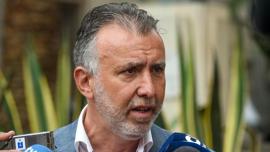 Ángel Víctor Torres, secretario general del PSOE en Canarias.