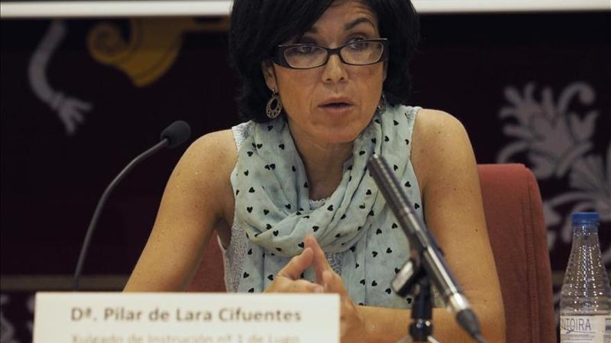 La jueza De Lara encabeza un registro en la Diputación de Lugo