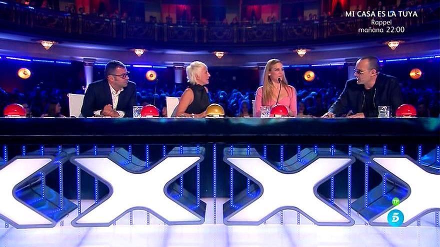 El jurado de Got Talent en Telecinco