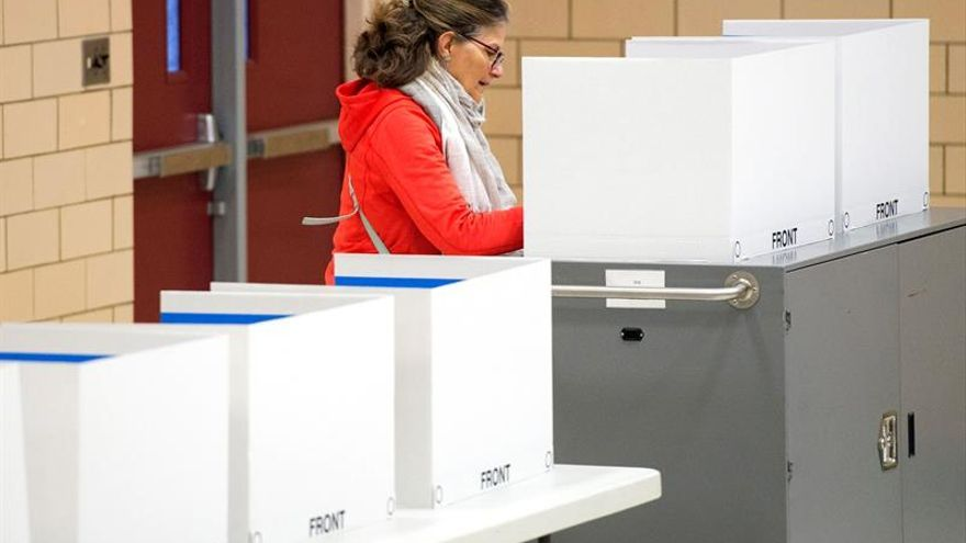 Casi la mitad de la población no vota en las elecciones presidenciales de EE.UU.