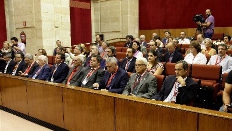 Segundo pleno de octubre de 2014 en el Parlamento de Andalucía.