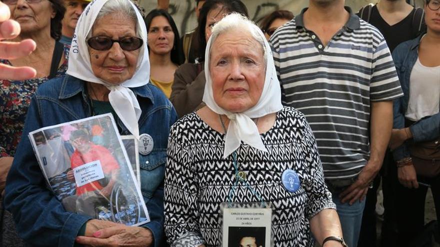Las Madres de Plaza de Mayo conmemoran 40 años de lucha por los desaparecidos